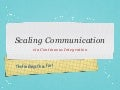 PHP UK Conference 2012: Scaling Communication via Continuous Integration