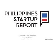Philippines Startup Report - 2013