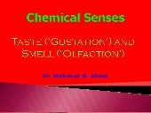 Physio   chemical senses