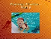 Physiology of exercise 2009