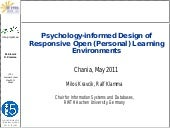 Psychology-informed Design of Respo...