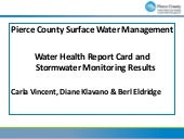 Pierce County 2010 Surface Water Re...