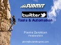 Twitter Tools & Automation