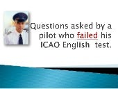 ICAO English Test Questions answered