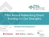 PINs Annual Event - May 6, 2015
