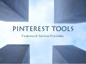 Pinterest Tools: Features & Service Providers