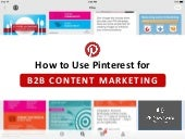 How to Use Pinterest for B2B Content Marketing