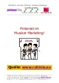 Pinterest im Musiker-Marketing