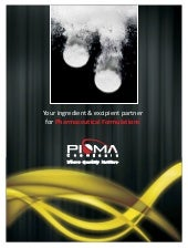 Pioma chemicals product line - Phar...