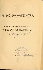 Pioneers of Homeopathy