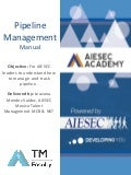 AIESEC Academy | Pipeline Management