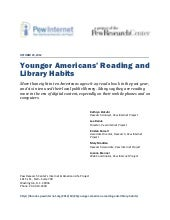 Younger Americans' Reading and Libr...