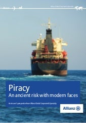 Piracy - An Ancient Risk With Moder...