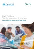 Big & Fast Data: The Democratization of Information