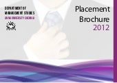 Placement Brochure DOMS Anna Univer...