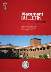 Placement Bulletin 2010-11