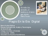 Plagio en la Era Digital