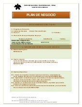 Plan de negocio blog blogger blogspot