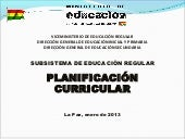Planificación curricular modificado...