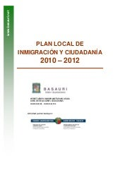 Plan local de inmigración basauri v...