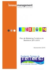 Plan marketing benidorm