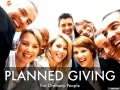 Planned Giving for Ordinary People