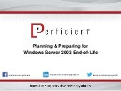 Planning and Preparing for Windows Server 2003 End-of-Life