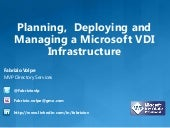 Planning,  deploying and managing a...