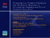 Planning For Climate Change In The ...