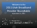 Utah Broadband Planning Project Updates