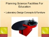 Planning Science Facilities For Edu...