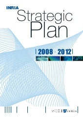 Inria - Strategic plan 2008-2012
