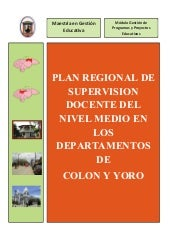 Plan Regional de Supervisión Docent...