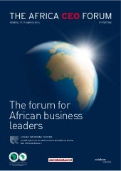 Africa CEO Forum 2014 brochure