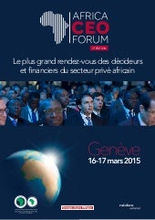 Africa CEO Forum 2014 - Brochure