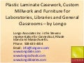 Plastic Laminate Casework, Custom Millwork and Furniture From Longo
