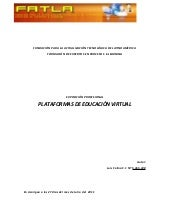 Plataformas de educacion virtual