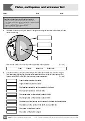 Printables Plate Tectonics Worksheet plate tectonics worksheet