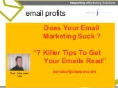 Platinum Email Marketing Tips