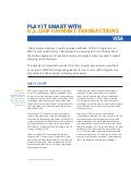 Play It Smart with U.S. Chip Payment Transactions