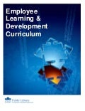 PLCMC Employee Learning & Development Curriculum 2009-2010