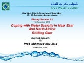 Coping with Water Scarcity in Near ...
