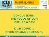 ICLEI Council - Decision Making Ses...