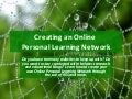 Creating an Online Personal Learning Network
