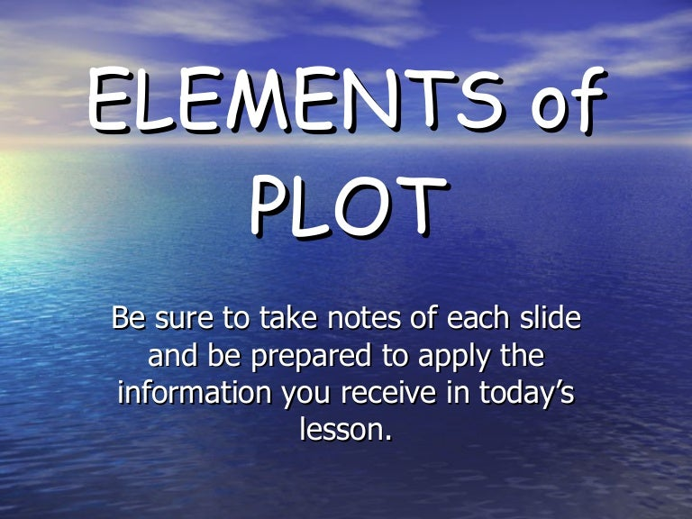 elements of plot : plot diagram powerpoint - findchart.co