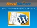 Real Estate Search Plugin for Wordpress
