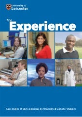 The Experience - Case studies of wo...