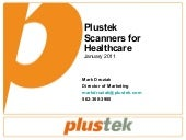 Plustek Scanners for Healthcare