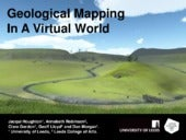 Geological Mapping Training in Virtual Environment