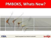 Pmbok5 changes v2